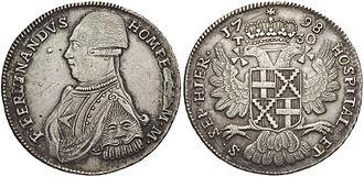 Maltese scudo - Image: Hompesch Tari 1798 2070482