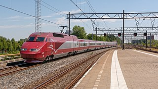 Thalys A French-Belgian high-speed rail operator