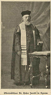Hosea Jacobi Croatian rabbi