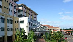 Temerloh - The new state-of-the-art hospital of Temerloh, Hospital Sultan Haji Ahmad Shah