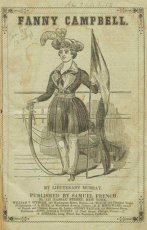 Maturin Murray Ballou - Fanny Campbell, 1844
