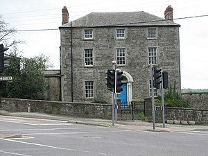 Slane - One of the four private Georgian houses at the center of the village.