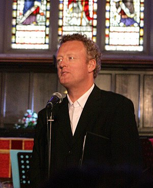 Howard Goodall - Howard Goodall at St. John the Baptist Church in Barnstaple, Devon, United Kingdom, May 2009