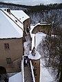Hrad Křivoklát, západní strana, z Huderky.jpg
