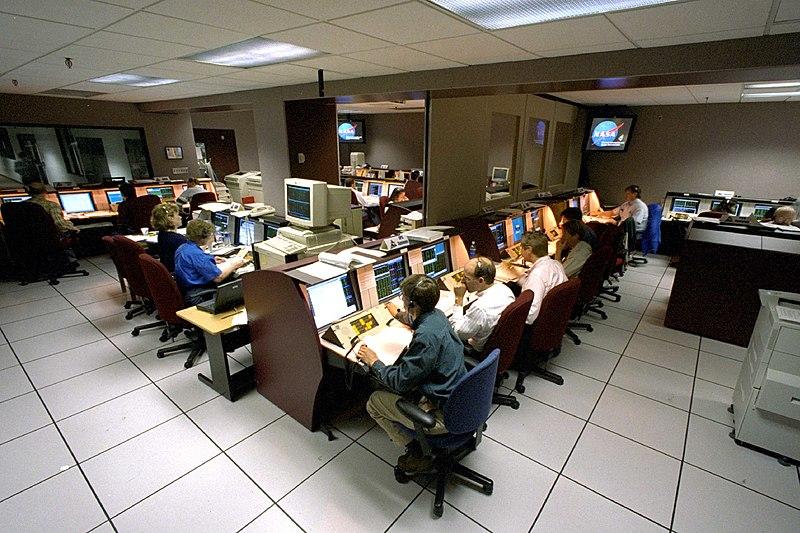 Hubble Control Centre
