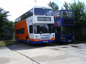 Yorkshire Tiger - Northern Counties Palatine bodied Leyland Olympian in July 2009