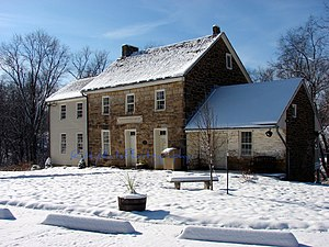 Jefferson Township, Greene County, Pennsylvania - Hughes House (1814) National Register of Historic Places