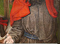 Hugo van der Goes, adorazione dei pastori tra due profeti, 1480 ca. 21.JPG