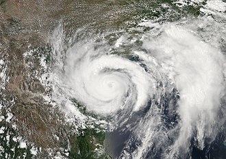 Hurricane Dolly (2008) - Image: Hurricane Dolly July 23, 2008
