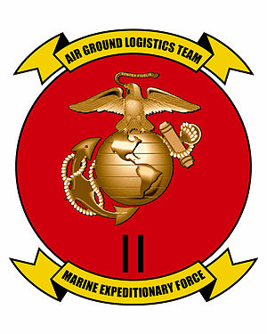 Marine expeditionary force - Image: II MEF insignia
