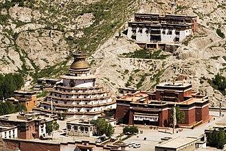 Palcho Monastery - The Palcho Monastery and Kumbum