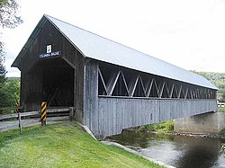 Columbia Covered Bridge, built in 1912