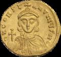 INC-1543-r Солид Лев III Исавр и Константин V ок. 717-741 гг. (реверс).png