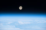 ISS-42 Moon on the Earth's atmosphere.jpg