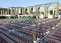 Iftar Serving for fasting people in the holy shrine of Imam Reza 14 ().jpg