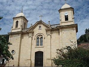 Cucunubá - Image: Iglesia de Cucunubá, Cundinamarca
