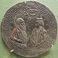 Ignoto, duca albrecht V di wittelsbach e duchessa anna, argento, 1577.JPG