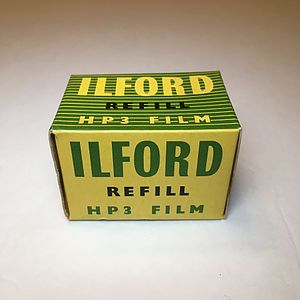 Ilford Photo - Box of 35mm Ilford film - expired: September 1957