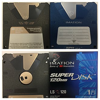 SuperDisk - Image: Imation Super Disk LS 120
