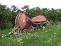 Imploded bowser near Barwick Hall Farm - geograph.org.uk - 440024.jpg