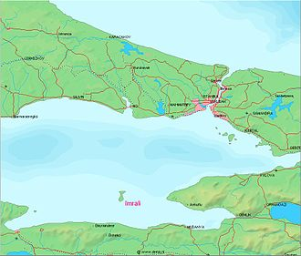 İmralı - Image: Imrali location