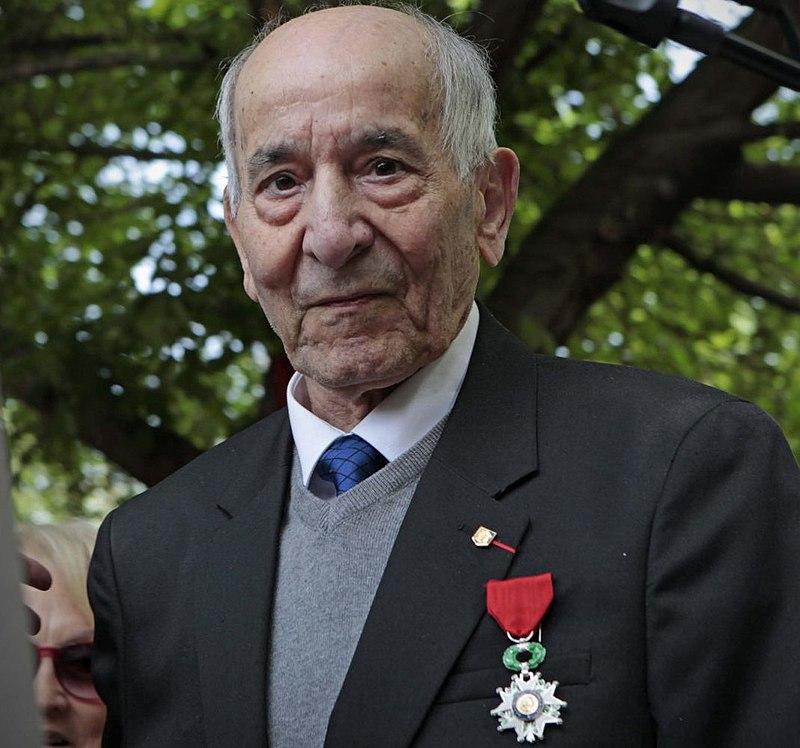 "Rafael Gomez Nieto, dernier membre de la ""Nueve"" | Photo : Wikimedia Commons."