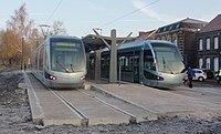 Inauguration de la branche vers Vieux-Condé de la ligne B du tramway de Valenciennes le 13 décembre 2013 (038).JPG