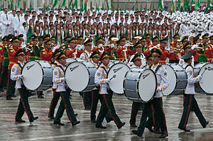 Drummer - Turkmenistan Independence Day, 2011