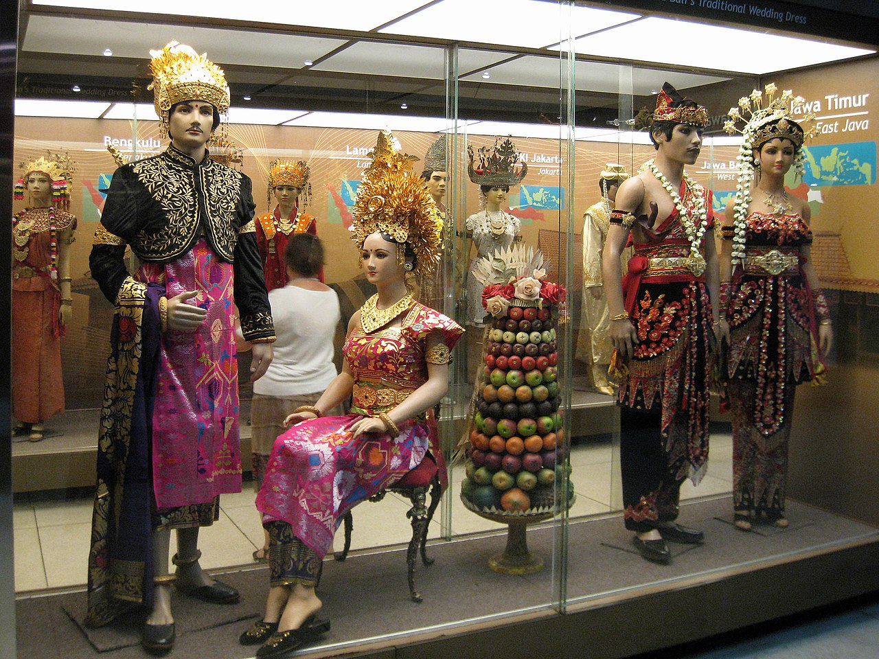 Fileindonesia Museum Traditional Dress 01jpg Wikimedia