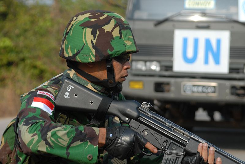 Dosya:Indonesian Army infantryman participating in the GPOI.jpg