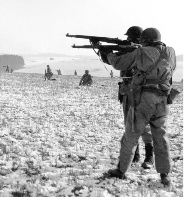 Infantry near Bastogne