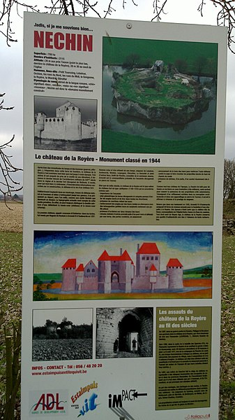 Information Point on the Castle