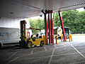 Inside a loading bay at the NEC - geograph.org.uk - 965055.jpg