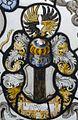 Interieur, glas-in-loodpaneel met gebrandschilderd glas, detail - Doorn - 20362562 - RCE.jpg