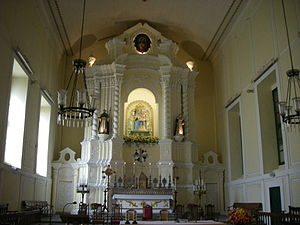 St. Dominic's Church, Macau - The high altar and reredos of St Dominic's Church.