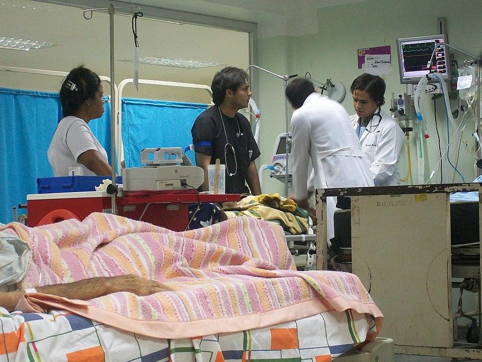 Intrahospital CPR