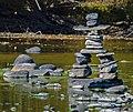 Inuksuk in Wallkill River, Walden, NY.jpg