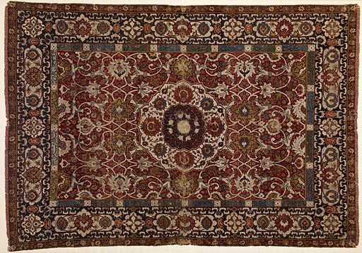 Iranian - Medallion Carpet - Walters 817 (3)