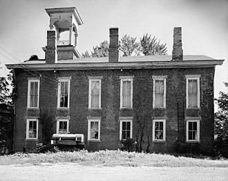 National Register of Historic Places listings in Doniphan County, Kansas - Image: Irvin Hall, Highland Community Junior College
