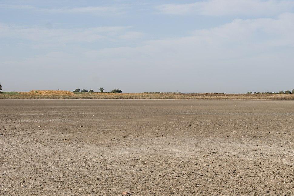 Isušeno korito jezera Rusanda 1