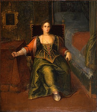 Body image - A noblewoman during the Italian Renaissance.