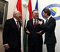 János Martonyi and Zlatko Lagumdžija with Sebastian Kurz.jpg