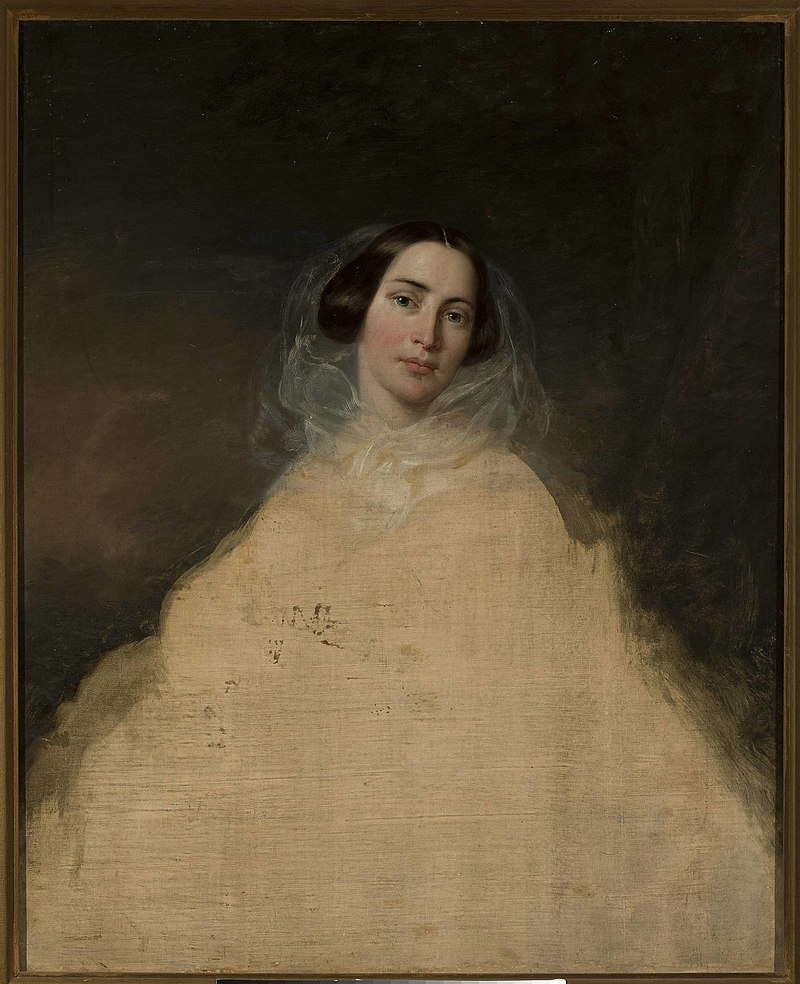 Józef Simmler - Portrait sketch of a lady - MP 684 - National Museum in Warsaw.jpg