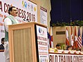 J.P. Nadda addressing at the inauguration of the 3rd International Congress of the World Coalition for Trauma Care and 8th Annual Conference of the Indian Society for Trauma and Acute care, in New Delhi.jpg