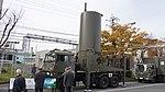 JASDF J TPS-102 Radar(Antenna unit, 46-8392) left front view at Kasuga Air Base November 25, 2017.jpg