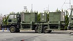 JASDF MIM-104 Patriot PAC-2 Electric Power Plant(Nissan Diesel Big Thumb, 49-0182) left rear view at Kasuga Air Base November 25, 2017.jpg