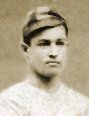 John Thayer (cricketer) - Thayer as a UPenn baseball player (1879)