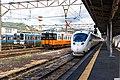 JRK trains at Nagasaki Station (48767880958).jpg