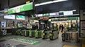 JR Tohoku-Main-Line Kuki Station Gates.jpg