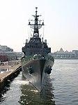 JS Asayuki (DD-132) moored at Hakata Chūō Wharf, -28 May 2005 b.jpg